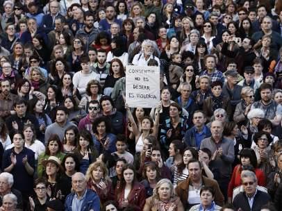 Protestas contra la sentencia de La Manada