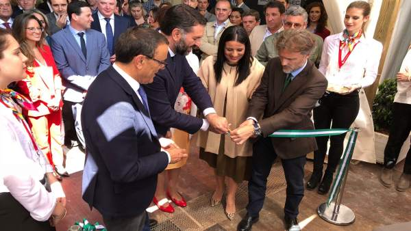 Inauguración de la II Feria Doñana Natural Life.