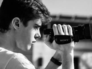 Jorge Tudanca, productor y director de la 'webserie' 'Los secretos de la residencia Castle Rock'.
