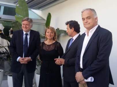 González Pons, Rosa Estaràs, Biel Company y López-Istúriz
