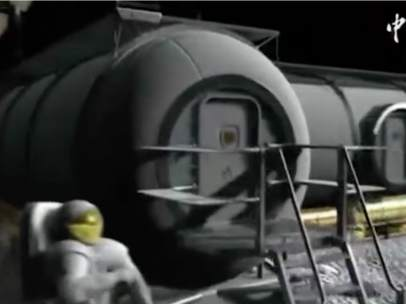 Base lunar china