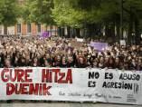Protesta en Pamplona