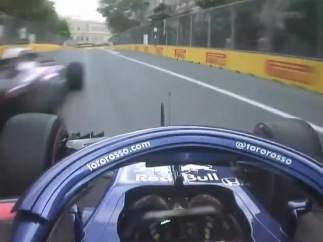 Los Toro Rosso, en la clasificación del GP de Azerbaiyán