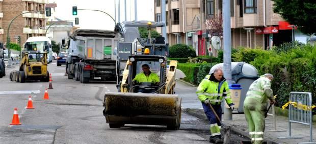 Trabajos de asfaltado en Santander