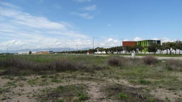 Zona central de PLHUS, en Huesca.