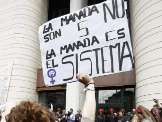 Protestas por la sentencia de la Manada