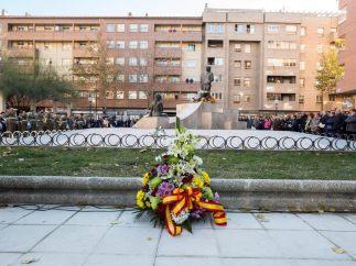 Monumento en recuerdo de la víctimas de Zaragoza