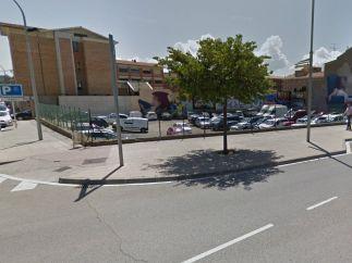 Un aparcamiento público