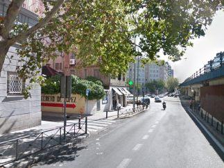 La calle Joaquín Costa, en la actualidad