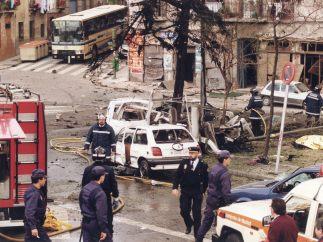 Coche bomba en el Puente de Vallecas (1995)