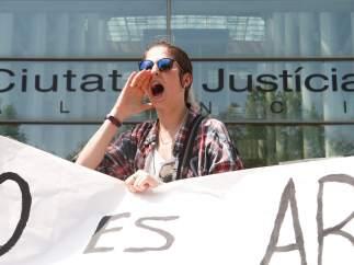 Protesta contra la sentencia de La Manada