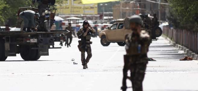 Atentado suicida en Afganistán