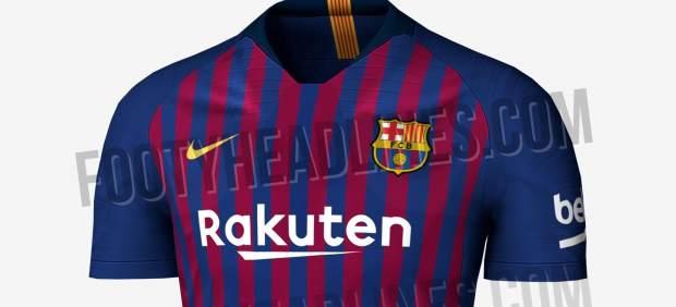 Nueva camiseta del Barça