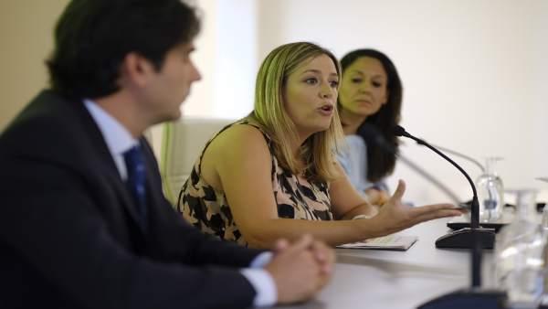 La delegada Myriam Díaz