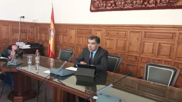 Presidente del TSJA, Lorenzo del Río.