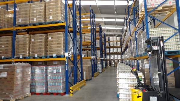 Almacén del Banco de Alimentos Medina Azahara