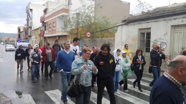 Imagen De Las Marchas Por La Dignidad