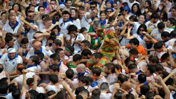 Celebración del Cipotegato en Tarazona.
