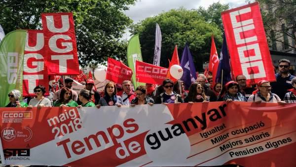 Manifestación Día del Trabajo