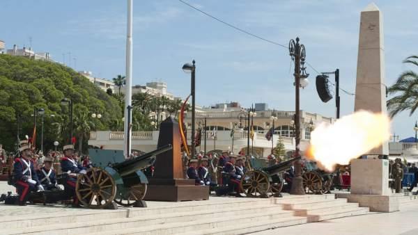 Conmemoración del Dos de Mayo en Cartagena