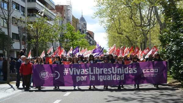 Valladolid (01-05-2018).- Manifestación 1 de mayo