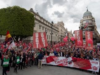 Marcha en Sevilla
