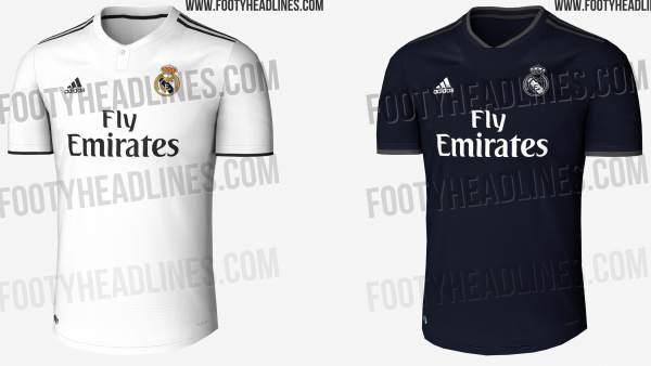 b7969a4faf0 Así será la camiseta del Real Madrid para la temporada 2018-2019