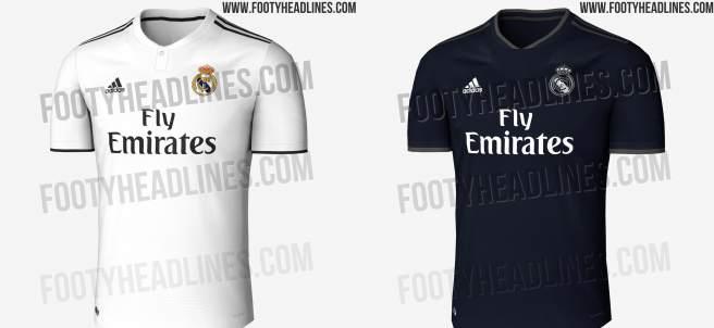 Camisetas Real Madrid 2018/19