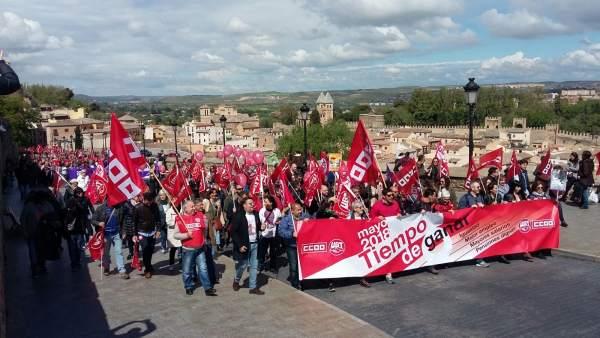 Manifestación 1º mayo Toledo
