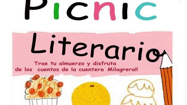 Cartel del 'Picnic literario'