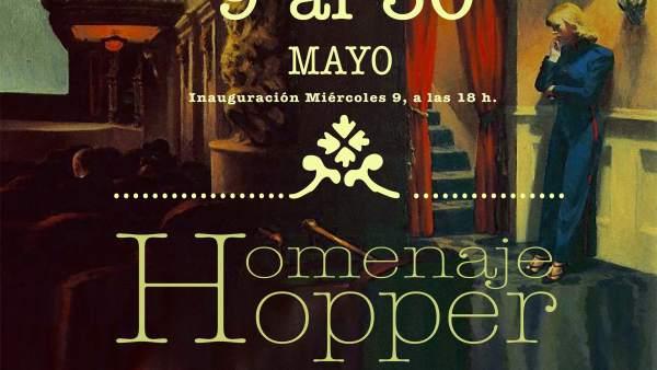 Cartel Homenaje a Hopper en Guadalajara