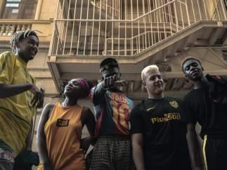 El grupo de afro trap Afrojuice 195