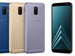 Samsung lanza sus Galaxy A6 y A6+
