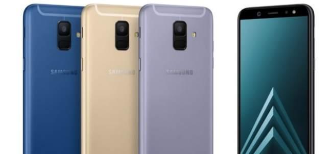 Samsung presenta Galaxy A6 y A6+