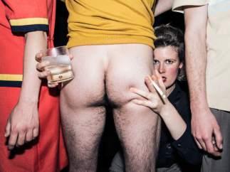 """Imagen promocional de la obra teatral 'Masticar hielo', que ha provocado que Facebook cerrara la página de la sala barcelonesa Tantarantana por """"contenido pornográfico""""."""