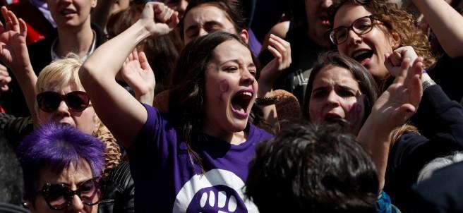 Manifestación feminista sentencia de La Manada