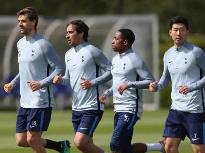 Raúl, en el Tottenham