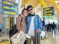 Amaia y Alfred, camino de Lisboa