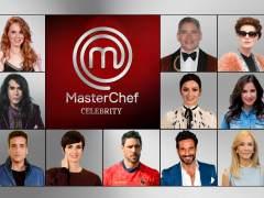 Concursantes definitivos de 'MasterChef Celebrity 3'.