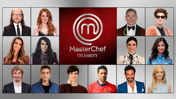 Concursantes definitivos de 'MasterChef Celebrity 3'.