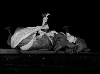 Fotografía de la serie 'El miedo como herida' de Elena de la Rúa