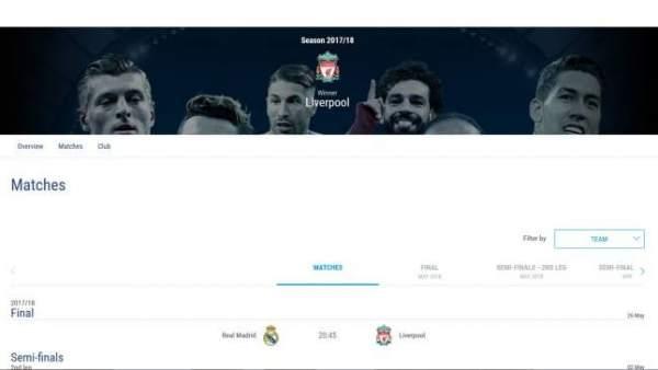 Web de la UEFA