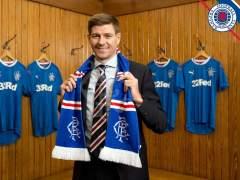 Steven Gerrard, nuevo técnico del Glasgow Rangers