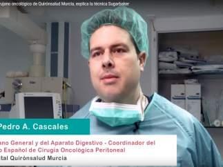 El doctor Pedro A. Cascales