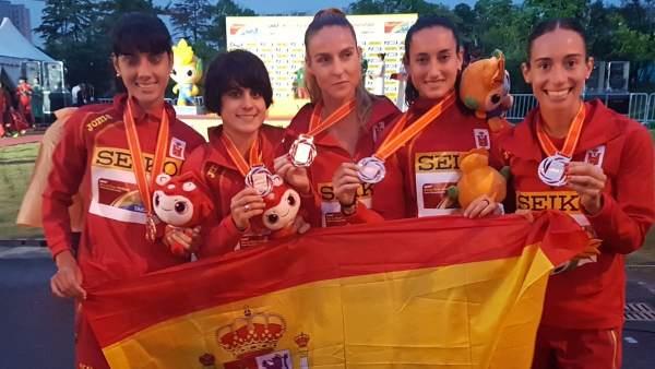 Bronce mundial español en 20km marcha.
