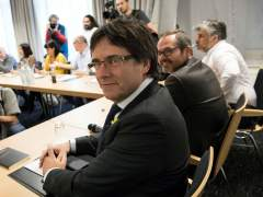 Reunión de Puigdemont en Berlín