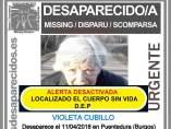 Desaparecida en Puentedura, Burgos