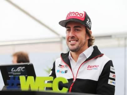 Fernando Alonso en las 6 Horas de Spa