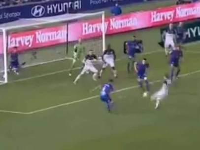 Gol del Melbourne Victory