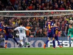 Gol de Cristiano al Barça